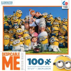 Despicable Me Wedding Cartoons Children's Puzzles