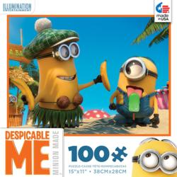 Despicable Me Popsicle Food and Drink Children's Puzzles