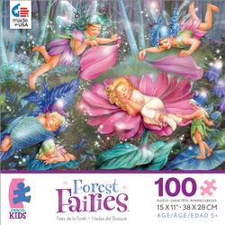 Evening Fairies (Forest Fairies) Flowers Jigsaw Puzzle