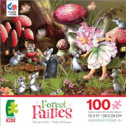 Fairy, Mice & Mole (Forest Fairies) Fantasy Jigsaw Puzzle