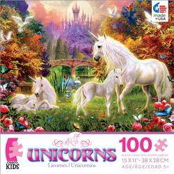 The Castle Unicorns (Unicorns) Unicorns Jigsaw Puzzle