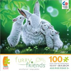Furry Friends - Whisper Other Animals Children's Puzzles