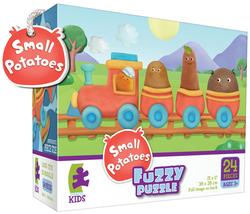 Small Potatoes Train (Fuzzy Puzzle) Movies / Books / TV Children's Puzzles
