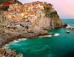 Cinque Terre, Italy Travel Jigsaw Puzzle