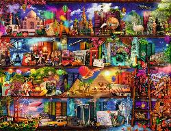World of Books Library / Museum Jigsaw Puzzle