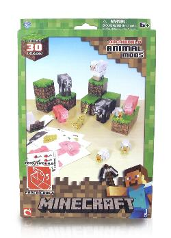 Animal Mobs (Minecraft Paper Craft) Video Game Toy