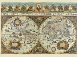 World Map, 1665, 3000 pcs Maps Jigsaw Puzzle