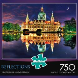 Reflections: New town Hall, Hanover, Germany Lakes / Rivers / Streams