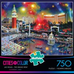 Las Vegas - The Grand View Las Vegas Jigsaw Puzzle