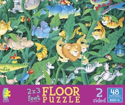 Moskowitz's Animal Adventure Other Animals Floor Puzzle