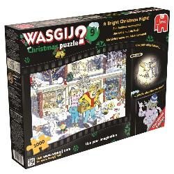 Wasgij #9 Christmas - A Bright Christmas Night! Snow Jigsaw Puzzle