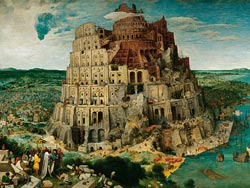 The Tower of Babel, 5000 pcs Renaissance Jigsaw Puzzle