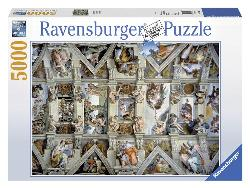 Sistine Chapel Italy High Difficulty Puzzle