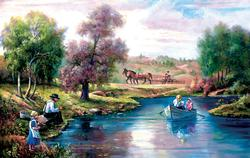 The Quiet Country Lakes / Rivers / Streams Jigsaw Puzzle