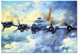 B17G Flying Fortress - Scratch and Dent Military / Warfare Jigsaw Puzzle
