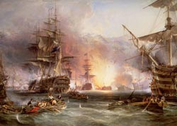 Bombardment of Algiers, 9000 pcs - Scratch and Dent Renaissance Jigsaw Puzzle