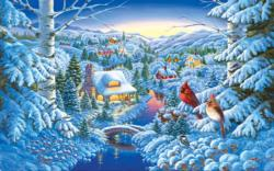 A Winter Haven Winter JigsawPuzzle