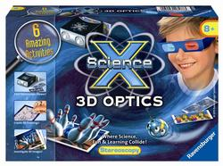3D Optics (Science X Mini) Educational Activity Books and Stickers