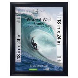 18 x 24 Black Frame Thick Border
