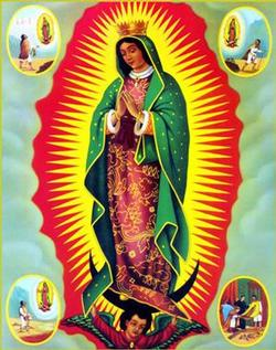Our Lady Guadalupe Religious Wooden Jigsaw Puzzle