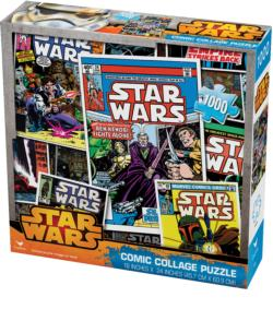 Comics Collage Sci-fi Jigsaw Puzzle