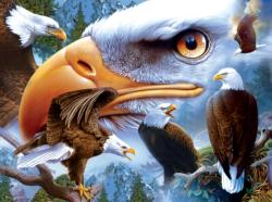 Bold and Beautiful Eagles Jigsaw Puzzle