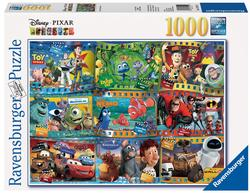 Pixar Movies Collage Jigsaw Puzzle