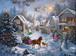 Merry Christmas - Scratch and Dent Christmas Jigsaw Puzzle