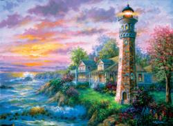 Sea Haven Sunrise/Sunset Jigsaw Puzzle