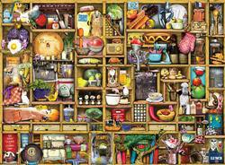 Kitchen Cupboard Domestic Scene Jigsaw Puzzle