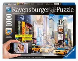 Colorful Activity at Times Square (Augmented Reality) Cities Jigsaw Puzzle
