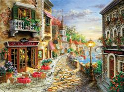 Hotel Villa D'Este Travel Jigsaw Puzzle