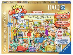 The Village Hall (What If?) Cartoons Jigsaw Puzzle
