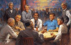 The Democratic Club Patriotic Jigsaw Puzzle