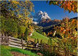 Mountains in Autumn Mountains Jigsaw Puzzle