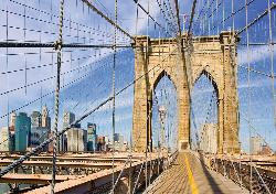 Brooklyn Bridge View Bridges Jigsaw Puzzle