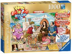 The Portrait (What If?) Cartoons Jigsaw Puzzle