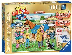 The Racehorse (What If?) - Scratch and Dent Cartoons Jigsaw Puzzle