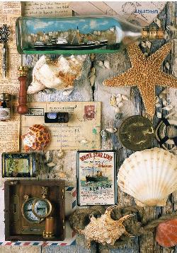 Maritime Souvenirs Nautical Jigsaw Puzzle