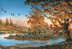 Hodge Podge Lodge Countryside Jigsaw Puzzle