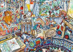 Toys, Toys, Toys Trains Jigsaw Puzzle