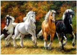 Galloping Horses - Scratch and Dent Horses Jigsaw Puzzle