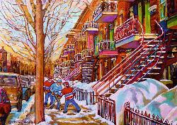 Street Hockey (Canadian Collection Canadienne) Canada Jigsaw Puzzle