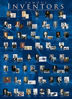 Famous Inventors Famous People Jigsaw Puzzle
