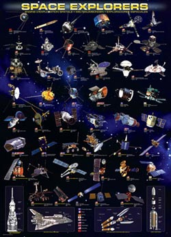 Space Explorers Space Jigsaw Puzzle