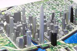 Chicago 4D Cityscape Chicago 3D Puzzle