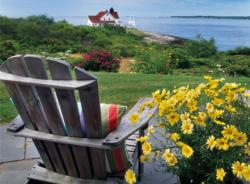 Seaside Serenity (Out on the Porch) Summer Jigsaw Puzzle