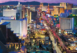 Vegas, Baby! (Las Vegas at Night) Las Vegas Jigsaw Puzzle