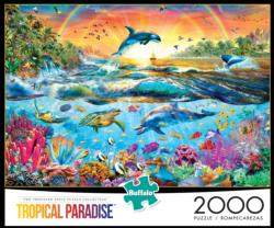 Tropical Paradise Fish Jigsaw Puzzle