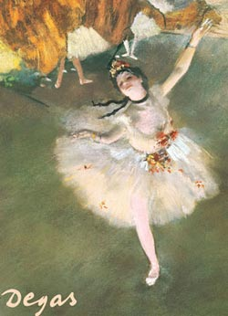 The Star (Dancer on Stage) Impressionism Jigsaw Puzzle